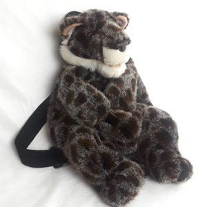 VTG Mango Teddy Bear Co Plush Backpack